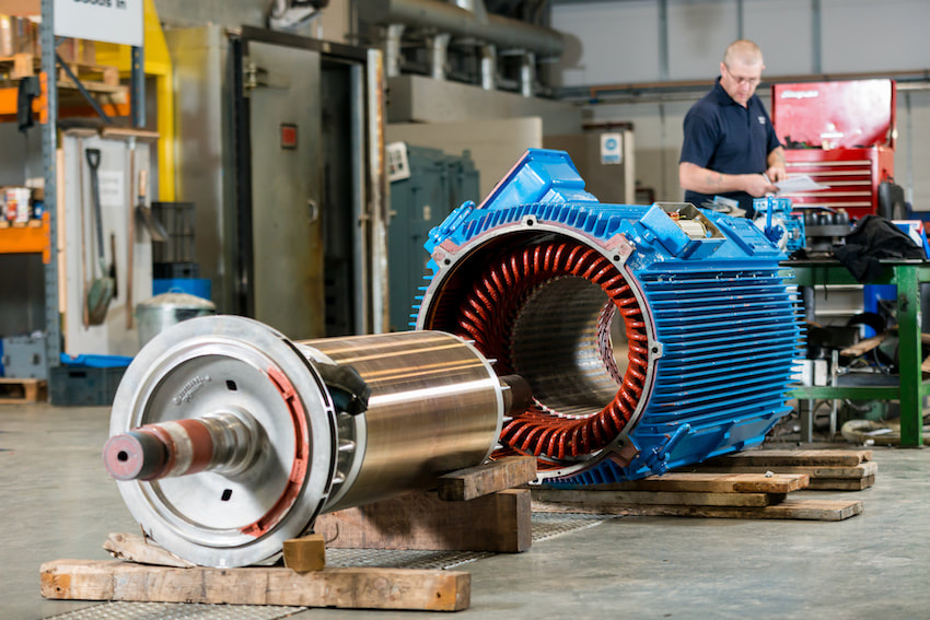 Repair of Electric Motors for Industrial Purposes