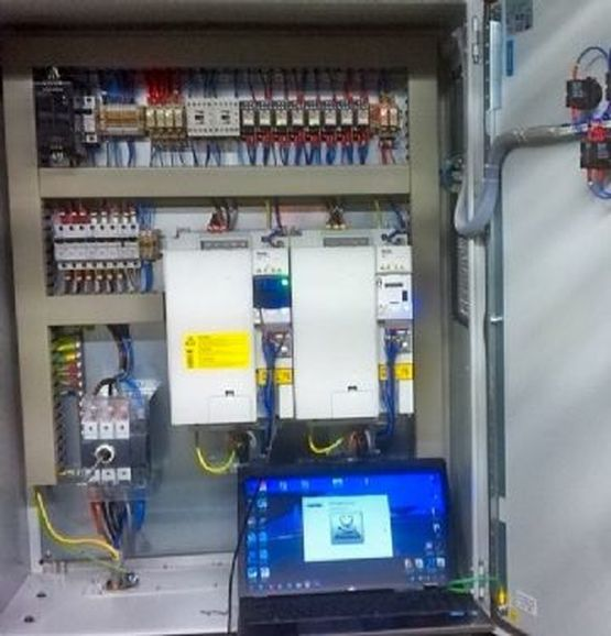 A panel controller, part of the control panel building service we offer.