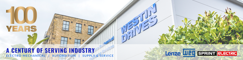 Westin Drives centenary logo