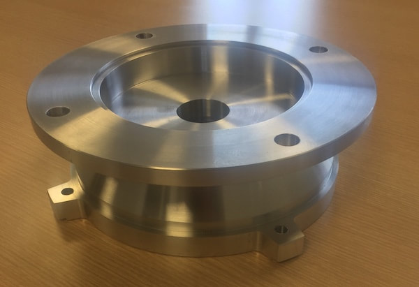 The engineered flange.